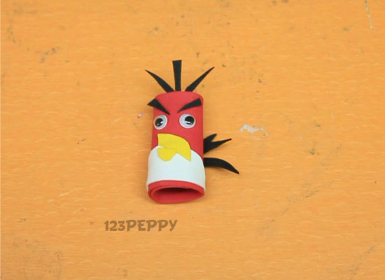 Angry Bird Puppet