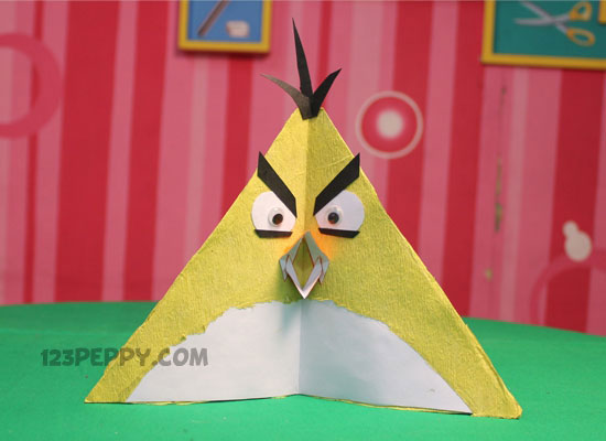 Instructions And Decorate Your Sweet Home With These Wonderful Stars On Angry Bird
