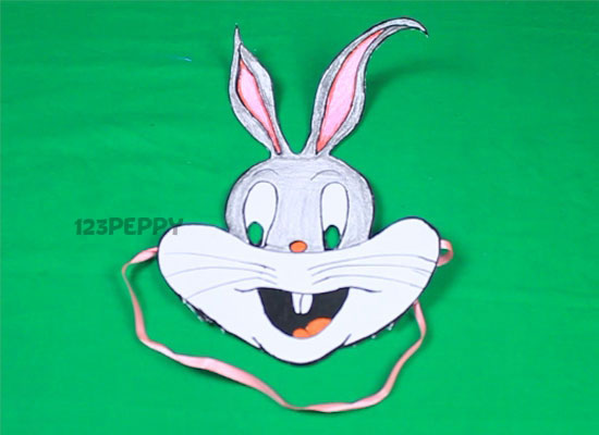 How To Make Bugs Bunny Mask Online 123peppy Com
