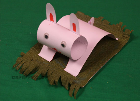 cardstock crafts materials for cardstock rabbit craft