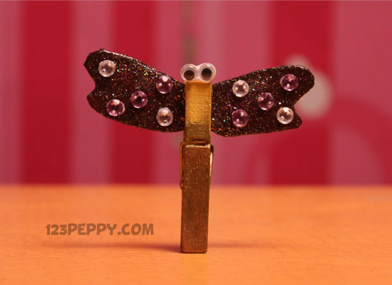 Clothes Peg Butterfly