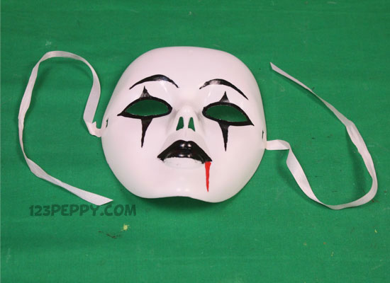 how to make paper mask step by step