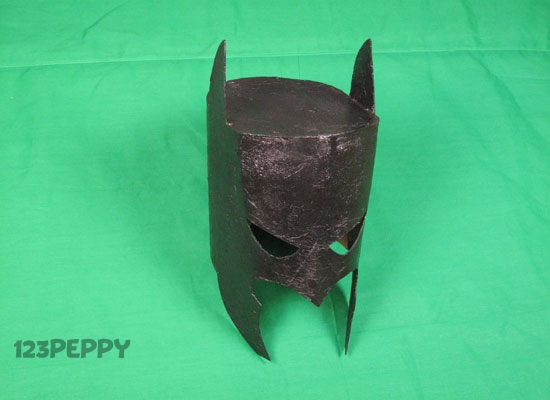 How to Make a Batman Mask