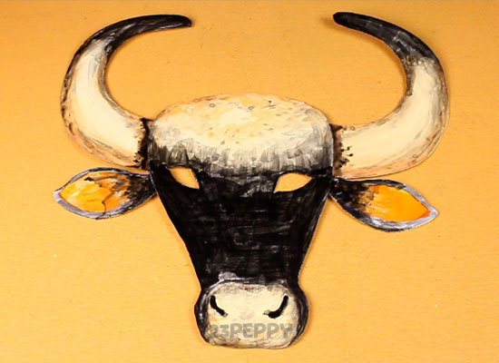 Buffalo Mask