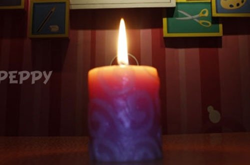 How to make a candle carving online peppy