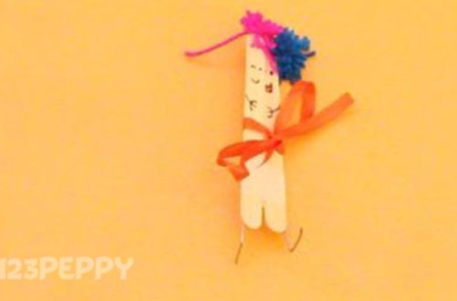 How to Make a Couple with Popsicle Sticks