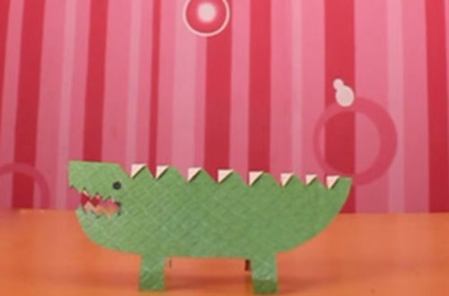 How to Make a Crocodile