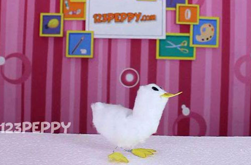 How to Make a Duck with Cotton