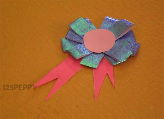 How to Make a Flower Badge