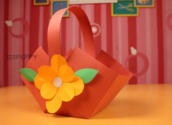 How to make flower basket online 123peppy flower basket mightylinksfo