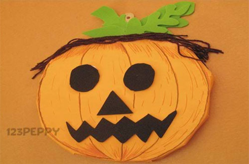 How to Make a Halloween Pumpkin