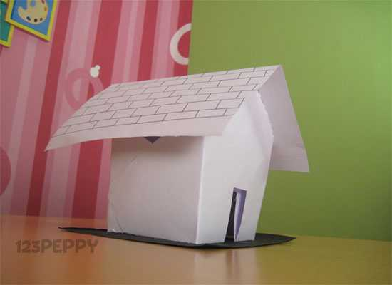 How to Make a Hut with Cardstock
