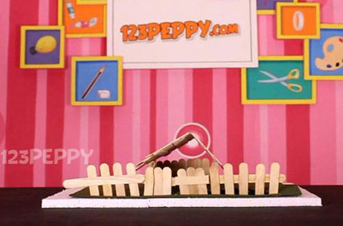 how to make a hut with popsicle sticks online 123peppy com