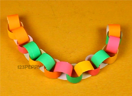 How To Make Paper Chain Online 123peppy Com