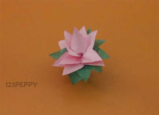 Image gallery lotus flower activity for How to make a lotus with paper