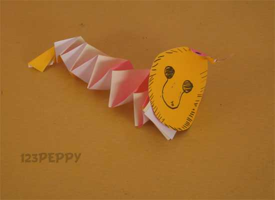 How to Make a Paper Snake