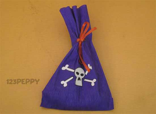 How to Make a Pirate Money Bag