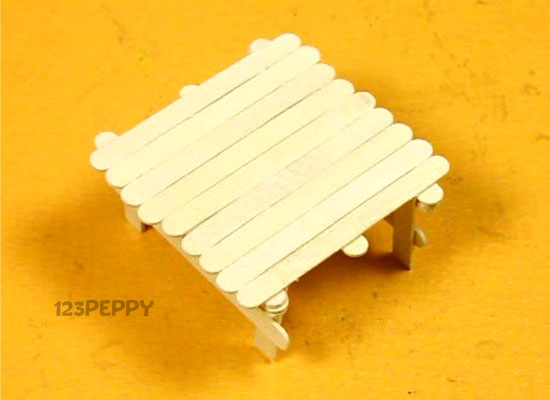 Popsicle Table
