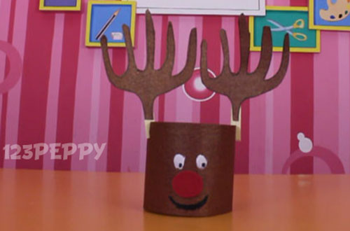 How to Make a Rudolph Reindeer
