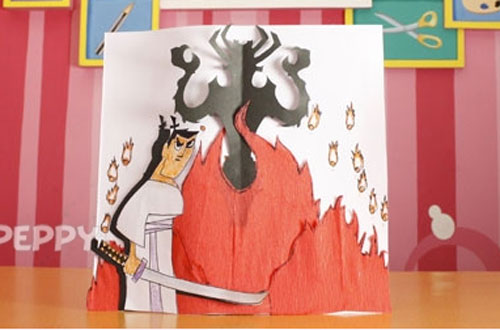 How to Make a Samurai Jack Cartoon