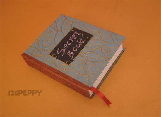 How to Make a Secret Book