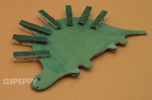 How to Make a Stegosaurus