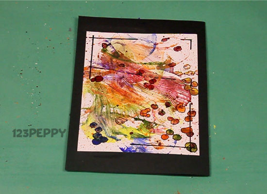How to make thread art greeting card online 123peppy thread art greeting card m4hsunfo