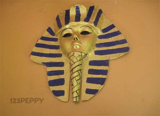 How to Make an Egyptian Mask