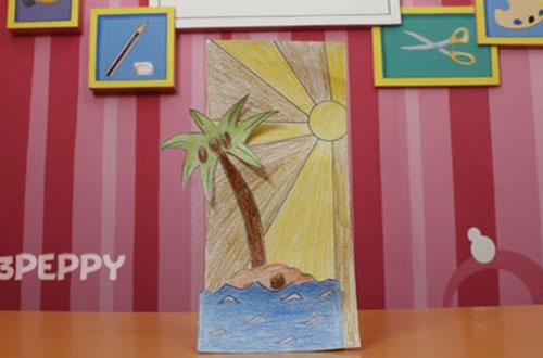 How to Make a Desert Island Card