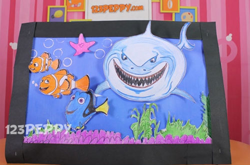How to Make Finding Nemo - Wall Hanging
