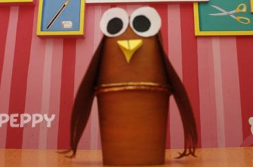 How to Make an Owl with Recycled Materials