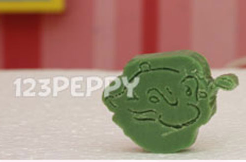 Popeye Soap Carving
