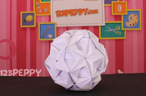 How To Make Origami Ball Online 123peppy