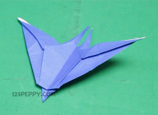 How To Make Origami Pterodactyl Online 123Peppy