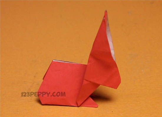 an Origami Rabbit