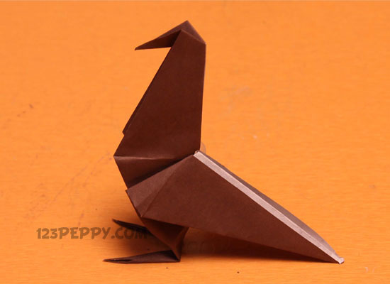 All Craft Ideas Will Increase The Thinking Capability Of Kids Origami Raven