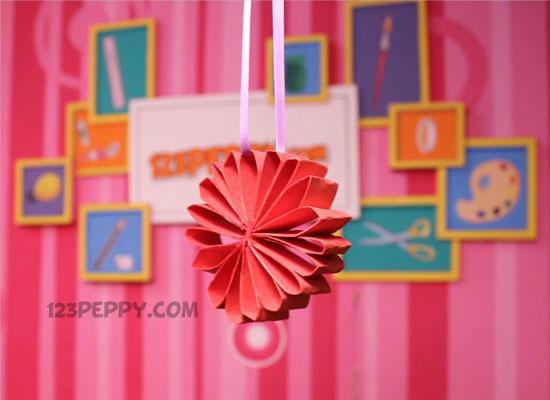How to make paper loop flower online 123peppy paper loop flower mightylinksfo