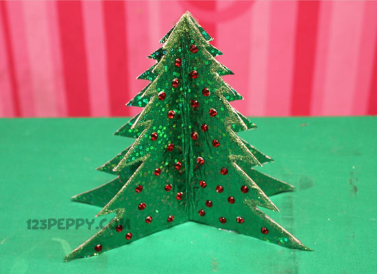 Christmas crafts project ideas online for Christmas tree decorations you can make at home