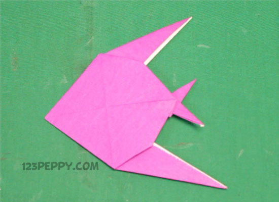 How To Make Simple Origami Fish Online 123peppy