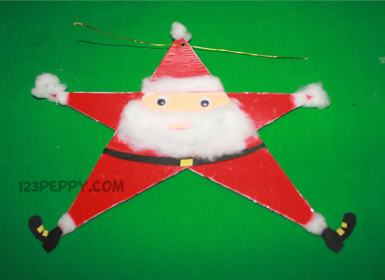 Star Santa Claus