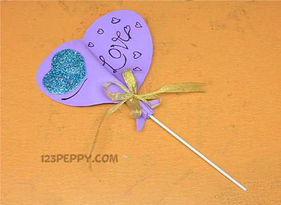 A Valentine Candy Craft