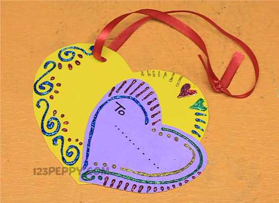 A Valentine Gift Tag