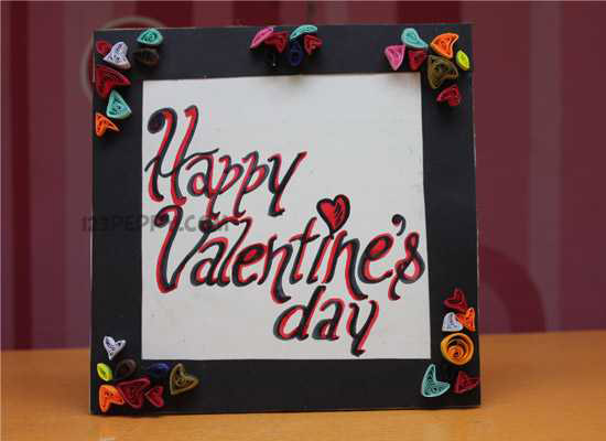 How to make Valentines Frame Online 123Peppy – Make a Valentine Day Card Online