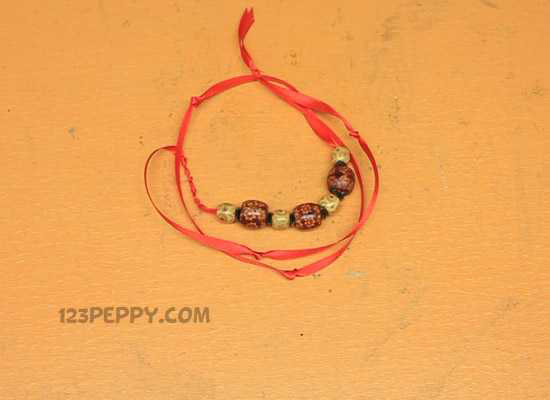 A Wooden Bead Necklace
